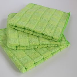bamboo & microfiber cleaning cloth